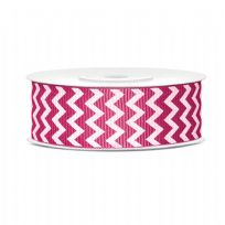 Grosgrain Ribbon Pink 25mm x 10m